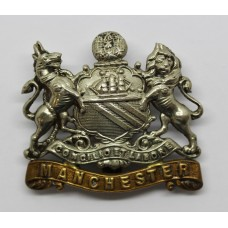 Manchester Regiment Cap Badge (Coat of Arms).