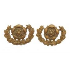 Pair of Hampshire Regiment Collar Badges