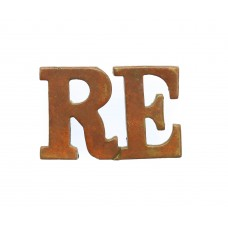 Royal Engineers (R.E) Shoulder Title