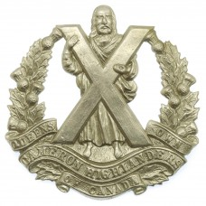 Queen's Own Cameron Highlanders of Canada Cap Badge