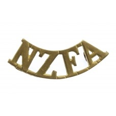 New Zealand Field Artillery (N.Z.F.A.) Shoulder Title