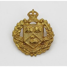 Western Australian University Regiment Collar Badge - King's Crown