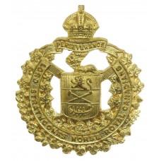 Lord Strathcona's Horse (Royal Canadians) Cap Badge - King's Crow