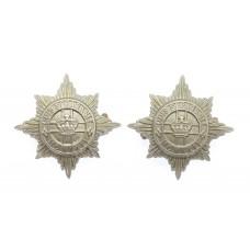 Pair of 4th/7th Royal Dragoon Guards Collar Badges