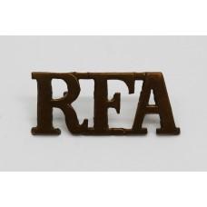 Royal Field Artillery (R.F.A.) Shoulder Title
