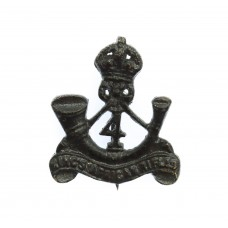 4th King's African Rifles Collar Badge - King's Crown