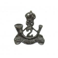 2nd King's African Rifles Collar Badge - King's Crown