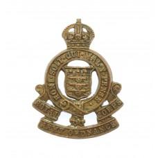 Royal Army Ordnance Corps (R.A.O.C.) Collar Badge - King's Crown