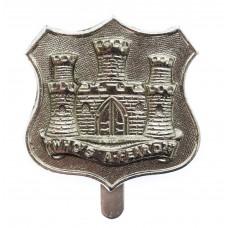 Dorsetshire Territorials Anodised (Staybrite) Cap Badge