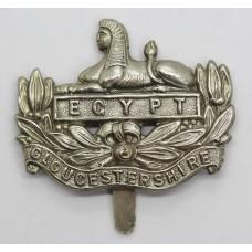 Gloucestershire Regiment Chromed Cap Badge