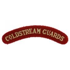 Coldstream Guards (COLDSTREAM GUARDS) Cloth Shoulder Title