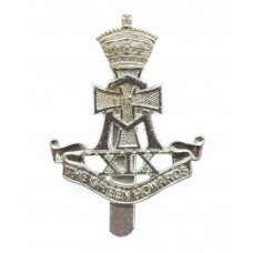 Green Howards Anodised (Staybrite) Cap Badge
