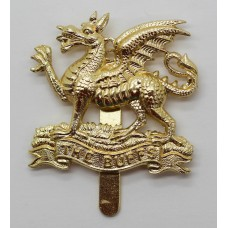 East Kent Regiment (The Buffs) Anodised (Staybrite) Cap Badge