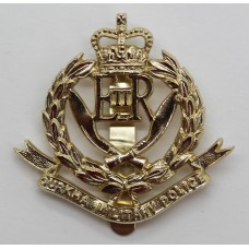 Gurkha Military Police Gold Anodised (Staybrite) Cap Badge