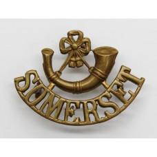 Somerset Light Infantry Shoulder Title
