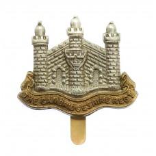 Cambridgeshire Regiment Cap Badge