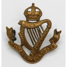 Edwardian Connaught Rangers Cap Badge