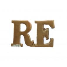 Royal Engineers (R.E.) Shoulder Title