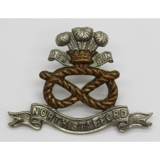 Edwardian North Staffordshire Regiment Cap Badge