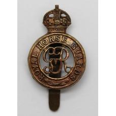 George V Royal Horse Guards Cap Badge