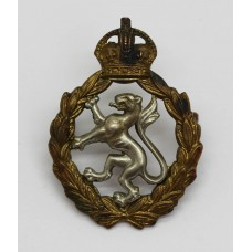 Women's Royal Army Corps (W.R.A.C.) Cap Badge - King's Crown