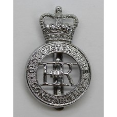 Gloucestershire Constabulary Cap Badge - Queen's Crown