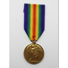 WW1 Victory Medal - Pte. H. Ware, The Queen's (Royal West Surrey) Regiment