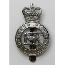 Dyfed Powys Police Cap Badge - Queen's Crown