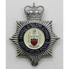 North Wales Police (Heddlu Gogledd Cymru) Enamelled Cap Badge - Q