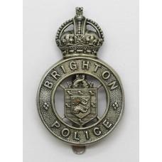 Brighton Borough Police Cap Badge - King's Crown
