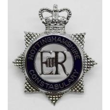 Nottinghamshire Constabulary Senior Officer's Enamelled Cap Badge