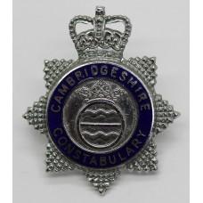 Cambridgeshire Constabulary Senior Officer's Enamelled Cap Badge