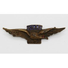 WWI Royal Naval Air Service (R.N.A.S.) Pilot's Wings Sweetheart B