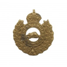 WWI Canadian Engineers CEF Collar Badge