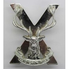 Highland Brigade Anodised (Staybrite) Cap Badge