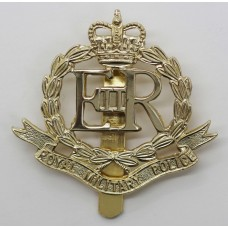 Royal Military Police (R.M.P.) Anodised (Staybrite) Cap Badge - Queen's Crown