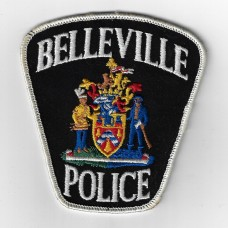 Canadian Belleville Police Cloth Patch