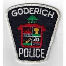 Canadian Goderich Police Cloth Patch