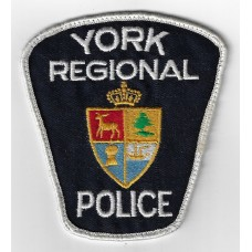 Canadian York Regional Police Cloth Patch