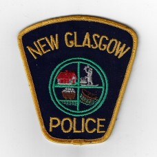 Canadian New Glasgow Police Cloth Patch