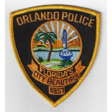 United States Orlando Police Cloth Patch
