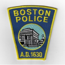 United States Boston Police Cloth Patch