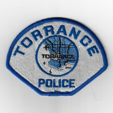 United States Torrance Police Cloth Patch