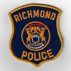 United States Richmond Police Cloth Patch