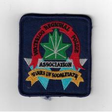 Canadian Waterloo Regional Police Association Cloth Patch