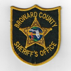 United States Broward County Sheriff's Office Cloth Patch