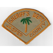 United States Jasper County Sheriff's Department Cloth Patch