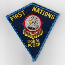 United States First Nations Tribal Police Cloth Patch