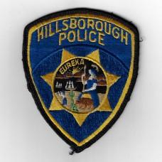 United States Hillsborough Police Cloth Patch