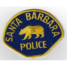 United States Santa Barbara Police Cloth Patch